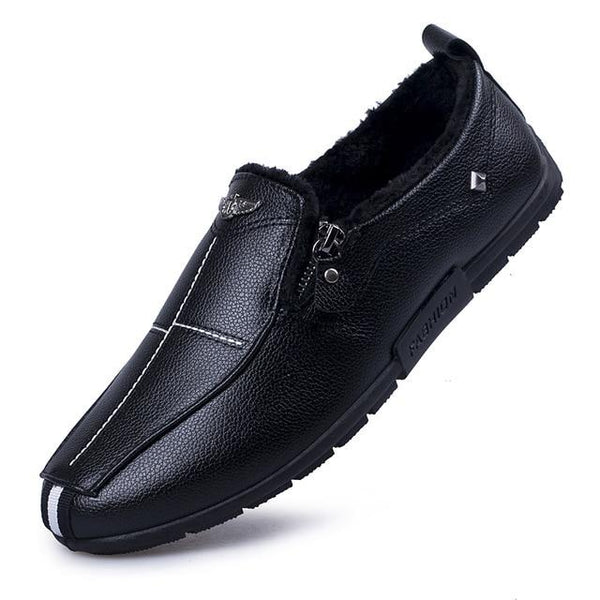 Shoes - Men Shoes Winter Soft Moccasins Loafers