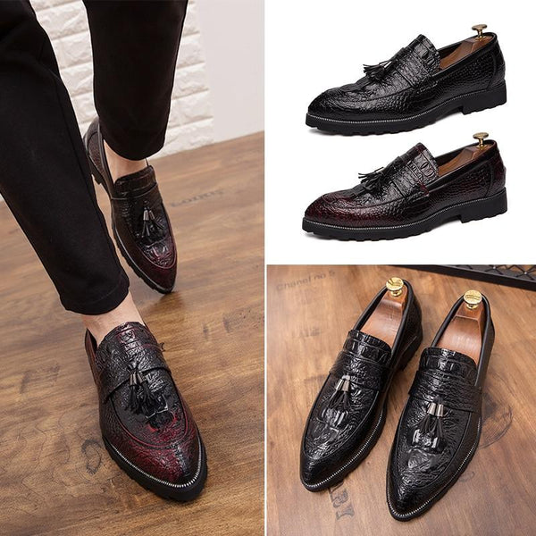 Men's Shoes - Fashion Formal Leather Tassel Shoes
