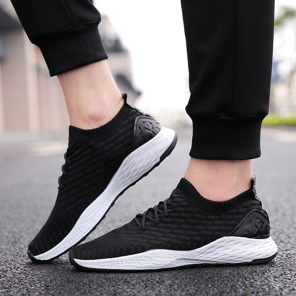 Men's Shoes - Fashion Mesh Breathable Cushion Sneakers