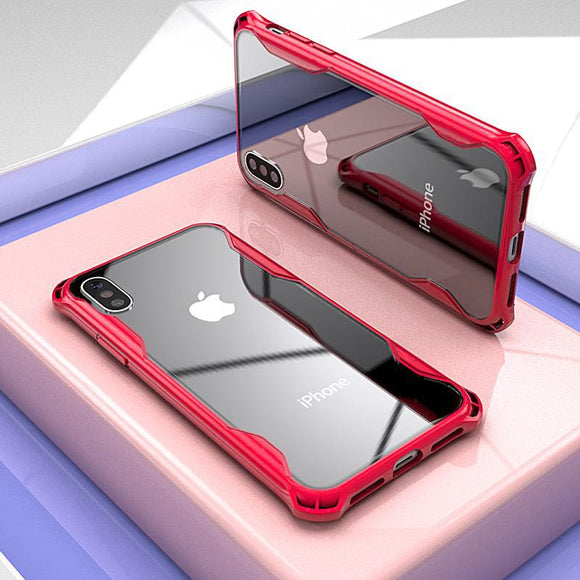Phone Case - Hybrid Airbag Full Body ShockProof Clear Case for iphone XR X XS MAX