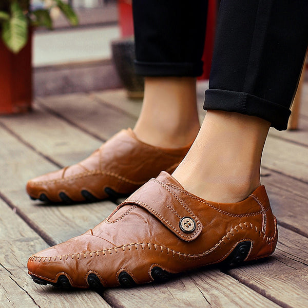 Handmade Big Size High Quality Comfy Lightweight Loafers