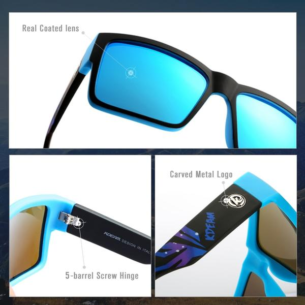 Outdoor Shades Ultra-thick Elastic Paint Frame Sunglasses