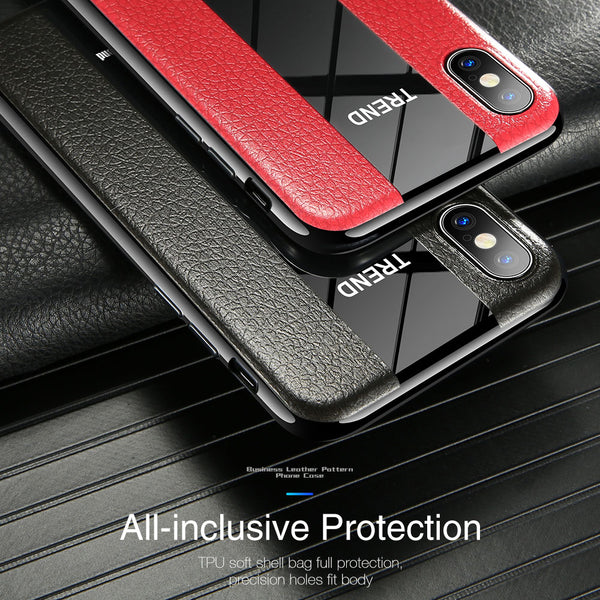 Luxury Soft Silicone TPU Business Cases For iPhone 7 8 Plus X XS XR MAX
