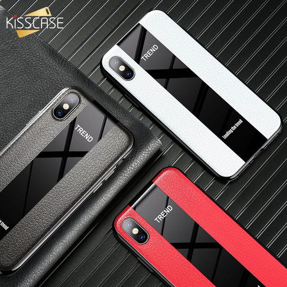 Luxury Soft Silicone TPU Business Case For iPhone 7 8 Plus X XS XR MAX