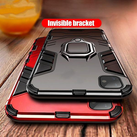 Heavy Duty Anti-knock TPU Cover With Strap For iPhone 11 11 pro Max X XS XR XS Max 7 8