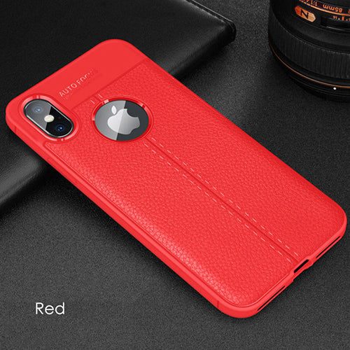 Luxury Ultra-Thin Shockproof Soft Silicone Case For iphone X XS Max XR 8Plus