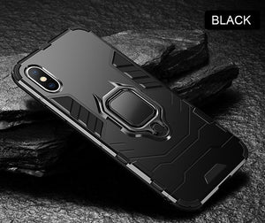 Luxury Armor Shockproof Ring Bracket Case For iPhone 11 11 PRO 11 PRO MAX X XR XS Max 8 7 6S PLUS