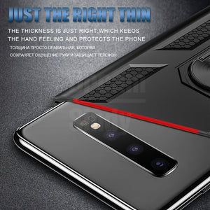 Luxury Armor Soft Shockproof Case On The For Samsung Galaxy S8 S9 S10 Plus S10e Note 8 9