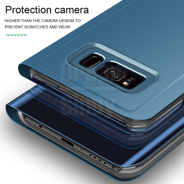 Luxury Plating Flip Case For Samsung S9 S8 Note 9 8