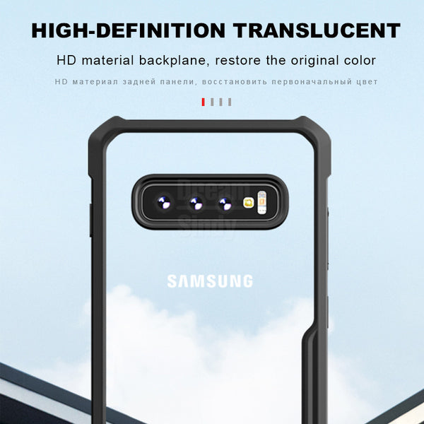 Phone Case - Soft Shockproof Airbag Bumper Cases for Samsung Galaxy S10e S8 S9 S10 Plus