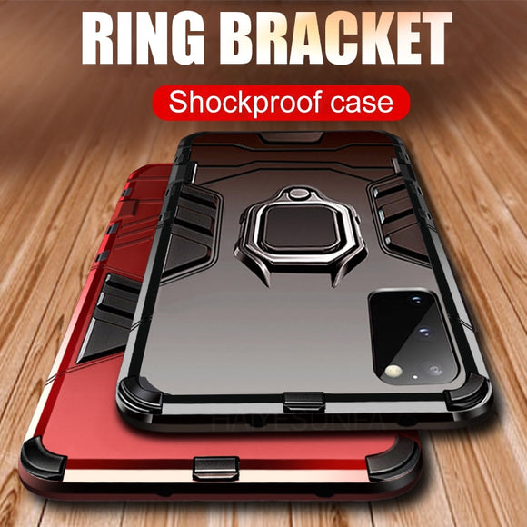Luxury Shockproof Holder Magntic Ring Case For Samsung Galaxy S20 S10 Plus Note 10 Pro S10e S20 Ultra 5G