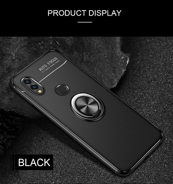 Luxury Magic Ring Case For Huawei P 20 Mate 20 Pro Lite Honor 8X MAX