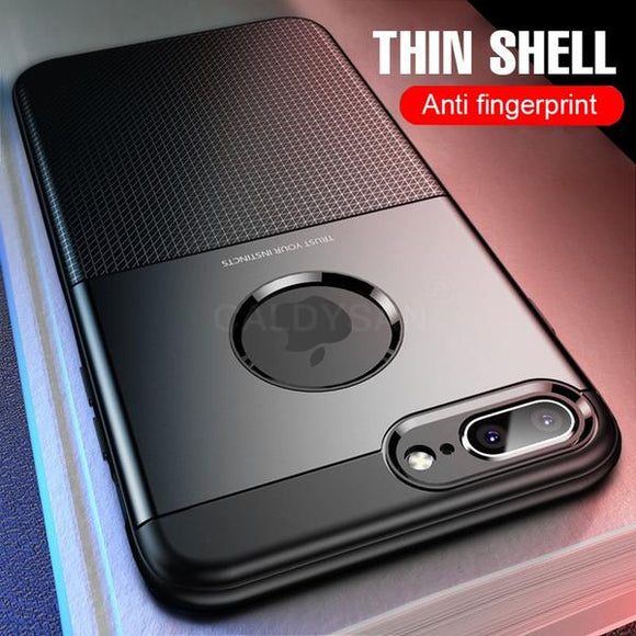 Luxury Shockproof Armor Business Case For iPhone X XS Max XR 8 7 Plus