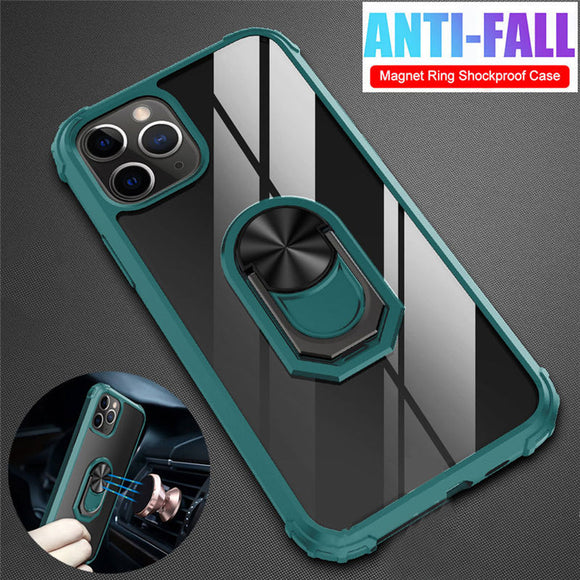 Magnetic Bumper Shockproof Phone Cases for iPhone 11 11 Pro Max