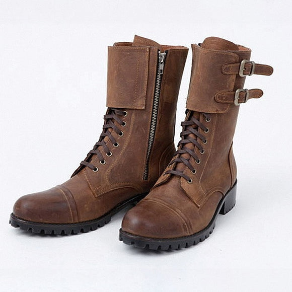 High Top Boot Men's Shoes Plus Size