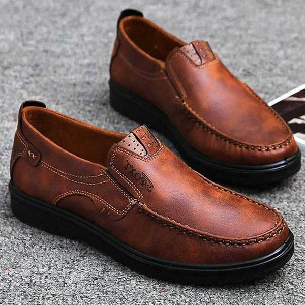 Shoes - Luxury Men's Breathable Casual Shoes Slip On Loafers