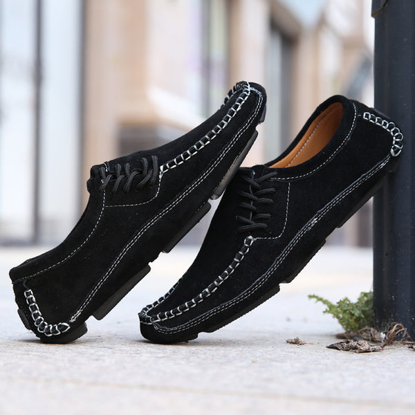 Shoes - Men Loafers Soft Moccasins Walking Shoes