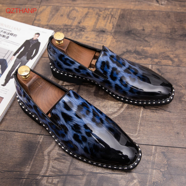 Shoes - Spring Men's Fashion Loafers Flats Slip-On Shoes