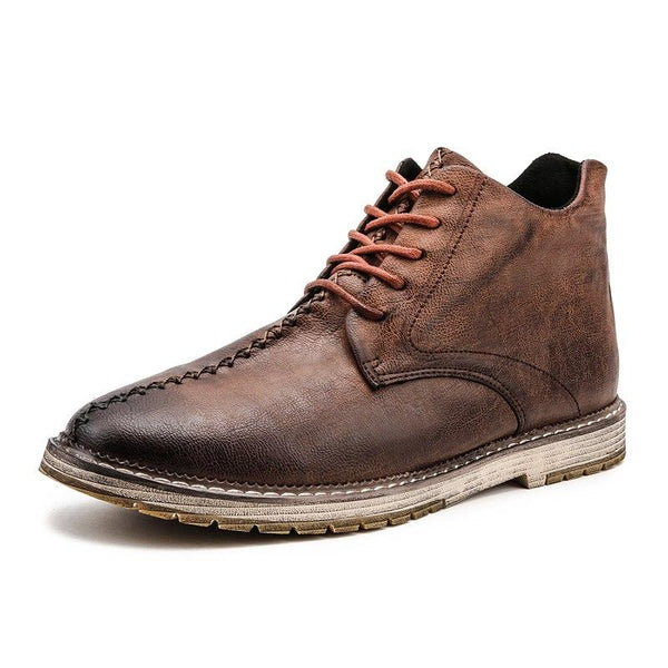 Shoes - New Men's Vintage Leather Martin Boots