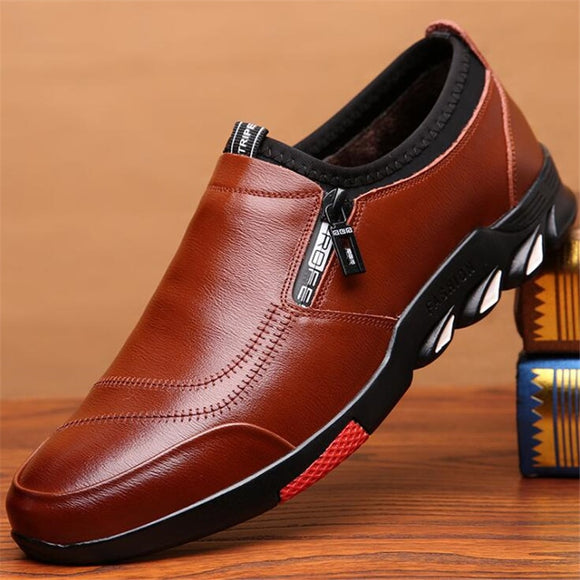 LUXURY MEN'S LEATHER CASUAL FASHION SHOES