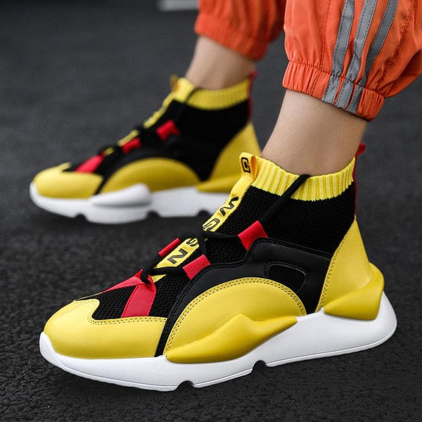 Shoes - Mens Winter High Top Sneakers