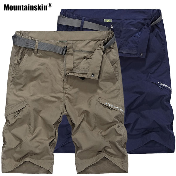 Quick Dry Hiking Shorts Outdoor Sports Breathable Trekking Camping Fishing Running Male Trousers