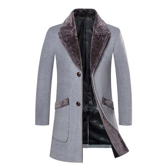 High Quality Casual Trench Men Coat(BUY 2 GOT 10% OFF, 3 GOT 15% OFF)