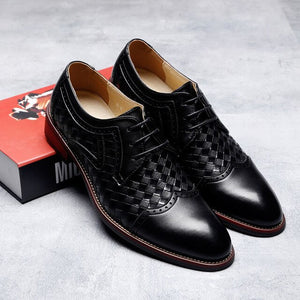 Men Casual Shoes Handmade Breathable Comfortable Oxfords Shoes