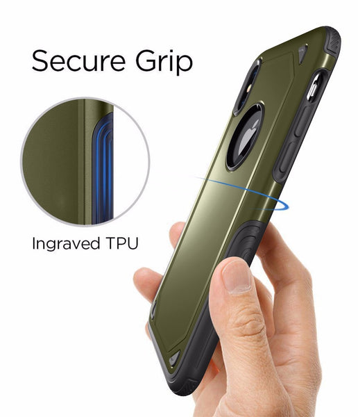Phone Accessories - Military Anti Shock Camouflage Armor Case For iPhone ( Buy One Get One 20% Off )