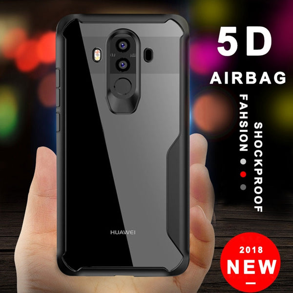 online store b479a e40da Silicone Armor Shockproof Case For Huawei P10 P20 Pro Mate10 Mate20 Lite Pro