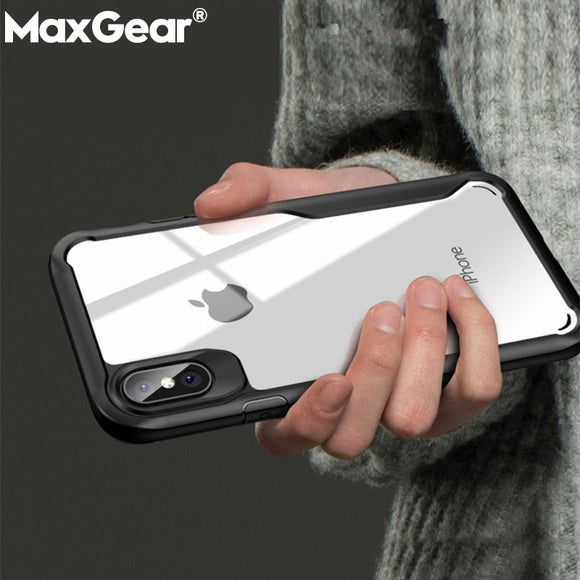 Phone Case - Soft Transparent Case Cover for iPhone XS Max XR X-new
