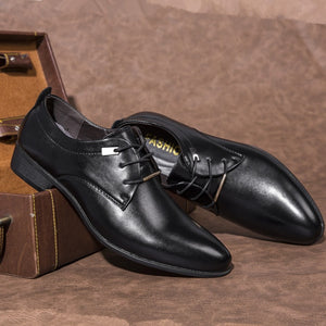 Shoes - Men Pointed Toe Formal Dress Shoes