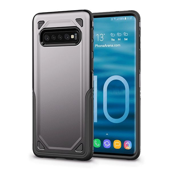 2019 Military Shockproof Armor Hybrid PC+TPU Cover Cases For Samsung S10e S10 Plus Note 9 8 S9 S8 Plus
