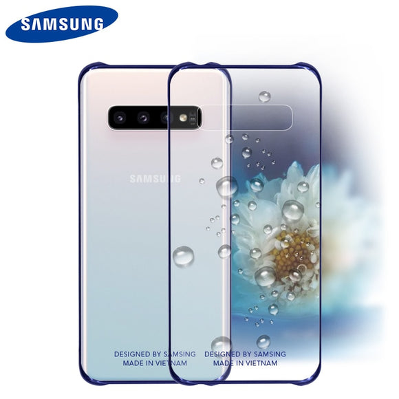Phone Case - Samsung Cases Official Original Clear Shockproof Hard Cover Transparent PC Shockproof Case (Buy 2 Get 5% OFF, 3 Get 10% OFF)