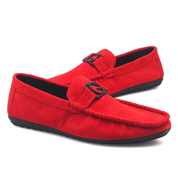 Fashion Suede Leather Casual Loafers