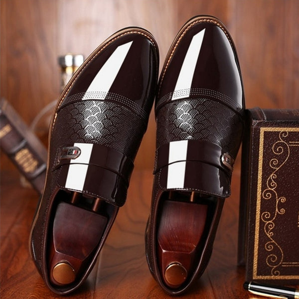 Shoes - Men's Leather Shoes Flat Business Oxfords Shoes (Buy 2 Get 5% OFF, 3 Get 10% OFF)