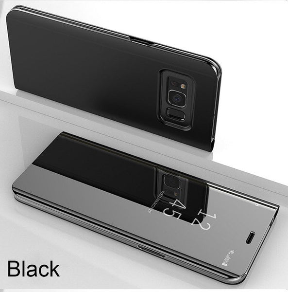 Clear View Smart Mirror Phone Case For S8 S9 Plus Note 9 8