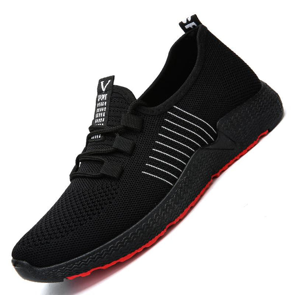 Men Non-slip Soft Bottom Breathable Tennis Shoes