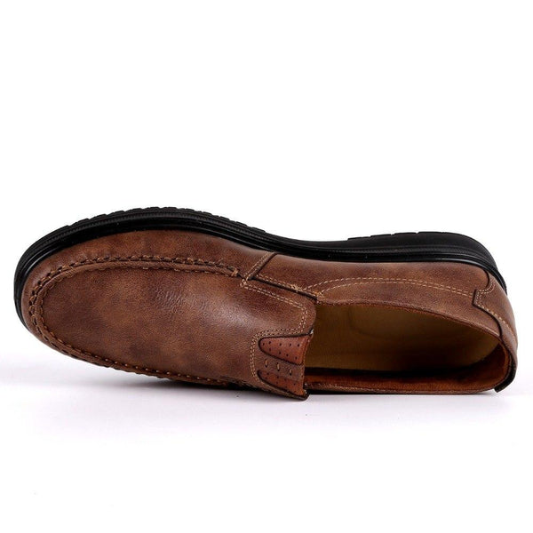 Men's Shoes - Fashion Leather Slip On Casual Style Shoes