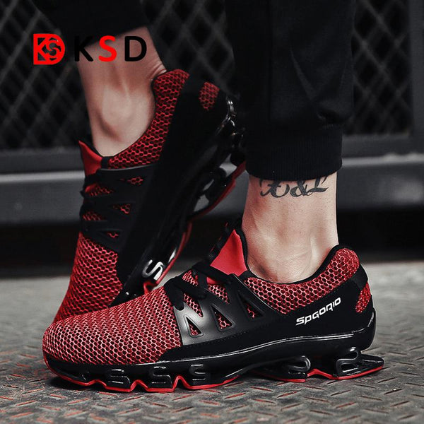 Shoes - Men's Casual Breathable Sneakers Running Shoes