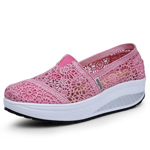 New Arrival Fashion Lace Bottom Casual Shoes