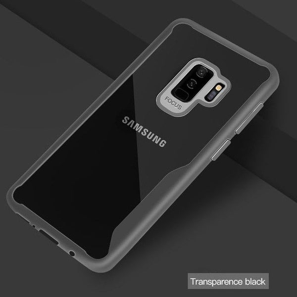 Phone Case - Transparent Anti Knock Back Cases for Samsung S8 S9 Plus