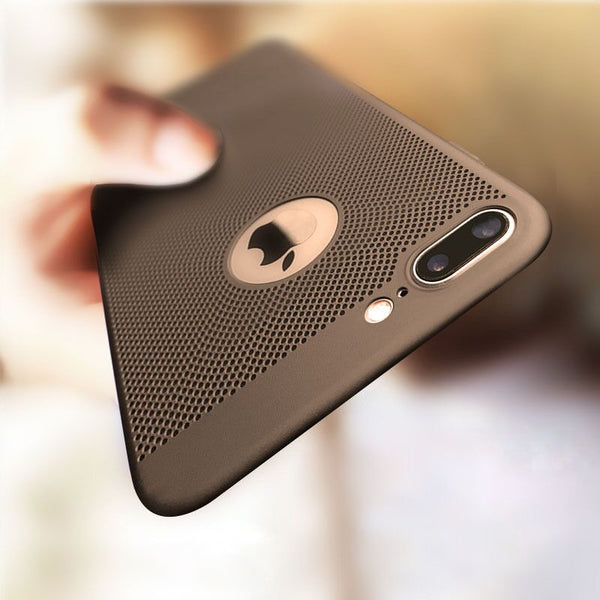 Luxury Ultra Slim Shockproof Hollow Heat Dissipation Cases For iPhone XS MAX XR X 8 7 Plus