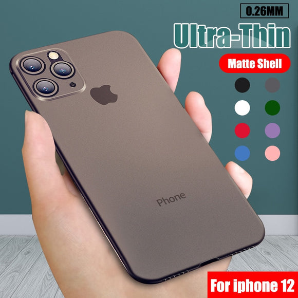 0.26mm Ultra Thin Original PP Case For iphone
