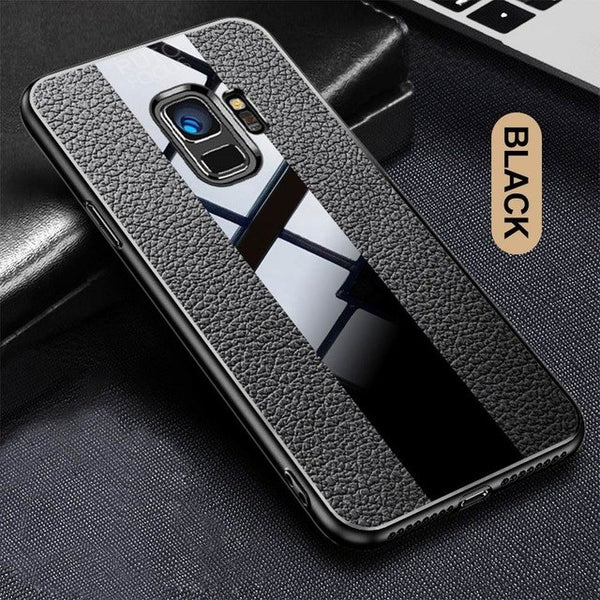Full Deluxe Vintage Ultra-Thin Soft PU Leather Case  For Samsung Galaxy Note 9 8 S8 S9Plus + Strap