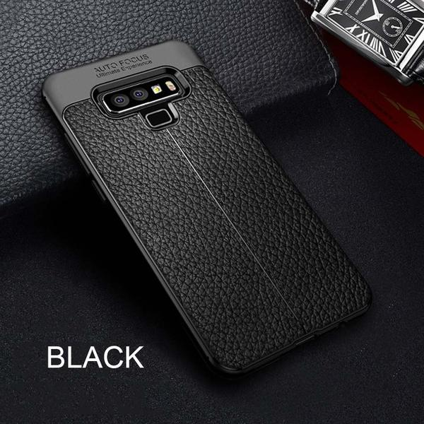 Luxury Ultra-Thin Soft Silicone PU Leather Case For Samsung Galaxy Note 9 8 S9 S8 S7 S6 Edge