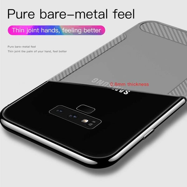 Transparent Shockproof Rugged Ultra Thin Armor Case For Samsung Galaxy Note 8 9 S10 S10Plus S9 S8 Plus S7 S6 Edge
