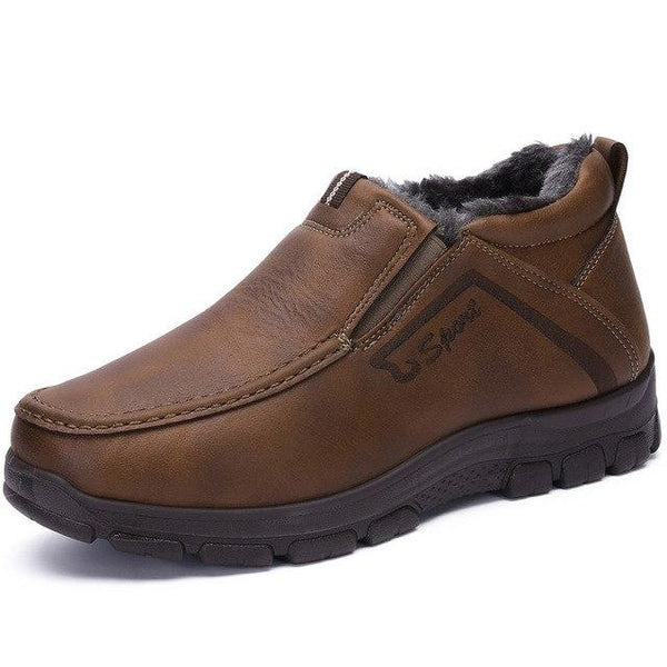 Men's Shoes - Soft Bottom Non-Slip Super Comfortable Warm Flats