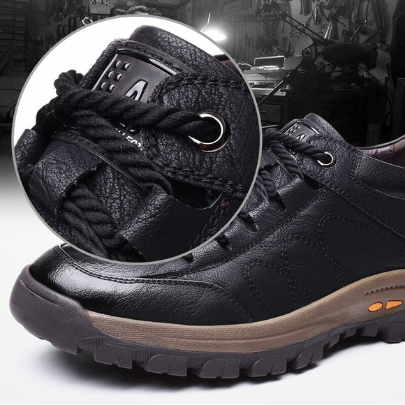 Split Leather Thick Wear resistant Shoes