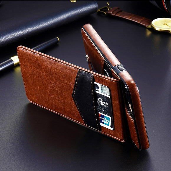 Luxury Flip Leather Wallet Cases For iPhone X XS XR XS Max 11 Pro (Buy 2 for 5% OFF, Buy 3 for 10% OFF)
